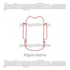 Novorodapie Inox - Stainless outer corner