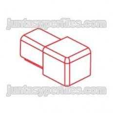 Novolistel 3 Inox corner - Stainless steel corners