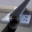 Novojunta Pro Aluminium - Junta de dilatação estrutural