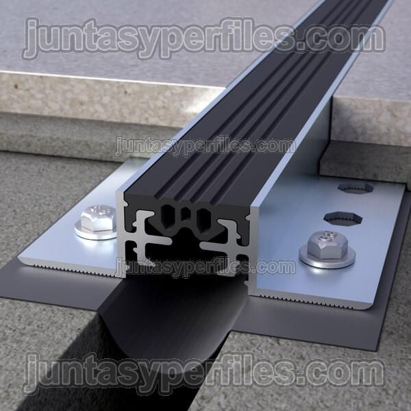 Junta de dilataci n estructural de aluminio de 20 35 y 50 for Junta constructiva