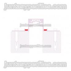 Novojunta Pro Aluminum - Alignment piece