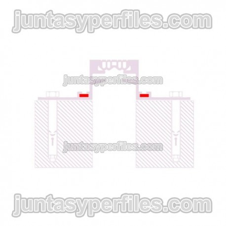 Novojunta Pro Aluminio - Pieza de alineamiento