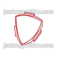 Angolo interno 4V - Incontro di 3 sovrapposte Profilo Profilo