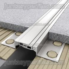 Novojunta Pro AL30 RS - Junta de dilatação estrutural embutida