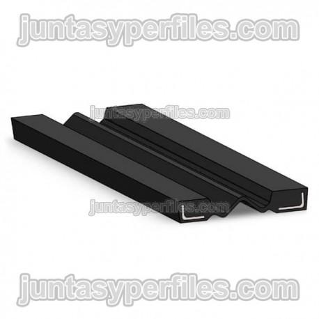 Junta elastomérica de dilatación para puentes JDP-50