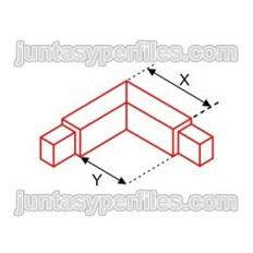 Novolistel 3 corner - Aluminum corners