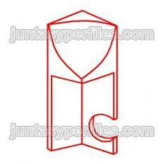 Inner corner for Novoescocia XS