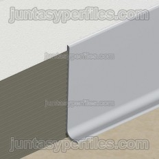 Flexible PVC skirting board by rolls