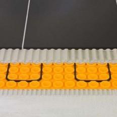 DITRA-HEAT-DUO - Radiant floor sheet in coils