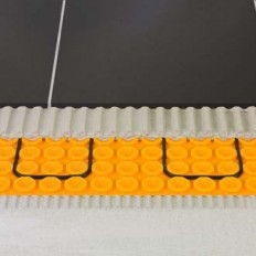 DITRA-HEAT-DUO-MA - Lámina para suelo radiante en placas