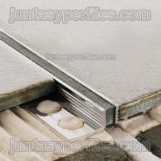 Novojunta metallic - Dehnungsfugen aus Aluminium