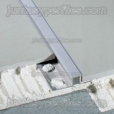 Novojunta Decor - Juntas de dilatación de aluminio