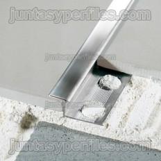 Novosepara 5 - Perfil inoxidable para separar pavimentos