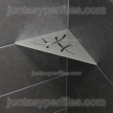 SHELF-E - Étagère de douche d'angle intégrée