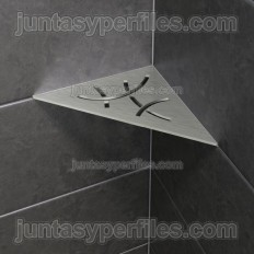 SHELF-E - Mensola doccia ad angolo integrata