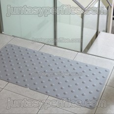 Dinalert DV10 TPU large - Placa podotáctil interior adhesiva