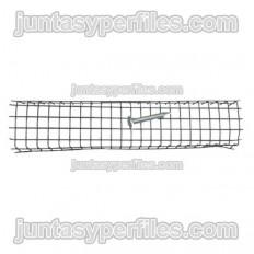 Red o malla metálica para colocar junta de bentonita