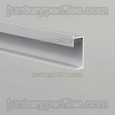 Novotri Eclipse - Battiscopa o profilo in alluminio per illuminazione a LED