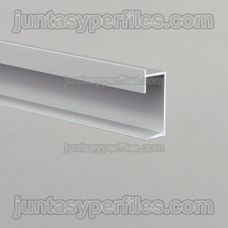 Novotri Eclipse - Rodapié o perfil de aluminio para luz LED