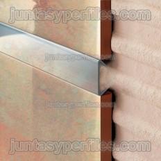 Novolistel 5 Acero Inox - Cenefas decorativas o listelos de acero inoxidable