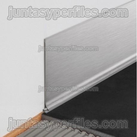 DESINGBASE-SL - Perfil de aluminio para rodapié de sobreponer
