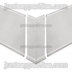 DESIGNBASE-SL-I - Angle extern 90º per rodapeu inox