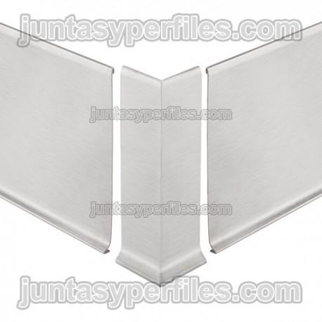 DESIGNBASE-SL-E - Ángulo externo 90º para rodapie inox