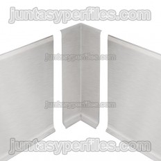 DESIGNBASE-SL-E - Internal angle 90º for stainless steel baseboard