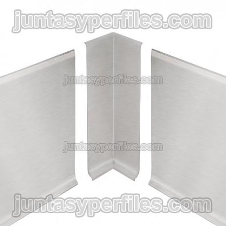 DESIGNBASE-SL-E - Ángulo interno 90º para rodapie inox