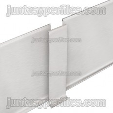 DESIGNBASE-SL-E - Empalme para rodapie inox