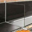 DECO-SG - Perfil do suporte para box de banheiro