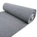 Carpet or doormat with vinyl curl