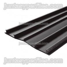 Bande PVC plate pour joint de rouleau externe