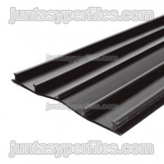 Flat PVC band for external roll joint