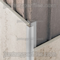 Novocanto Flecha - Coin d'aluminium pour carreaux