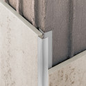 Novocanto Flecha - Cantonera de aluminio para azulejos