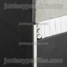 Novolistel 3 Inox - Stainless steel corner edge profile