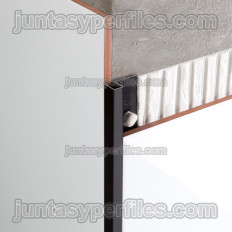 Novolistel 3 Alun - Profilé de chant en aluminium