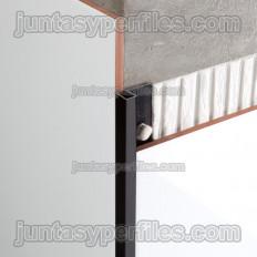 Novolistel 3 Alum - Aluminum corner edge profile