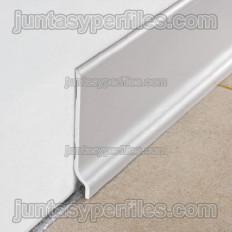 Rodapie semiflex PVC 100mm