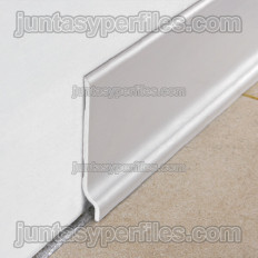 PVC skirting board 70 mm