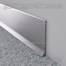 Novorodapie L - Anodized aluminum skirting board
