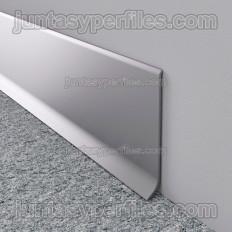 Novorodapie L - Battiscopa in alluminio anodizzato