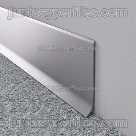 Rodapie aluminio ECO barras de 3 m