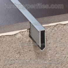 Novojunta Decor Flecha - Aluminum floor expansion joint