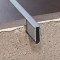Novojunta Decor Flecha - Joint de dilatation pour sol en aluminium