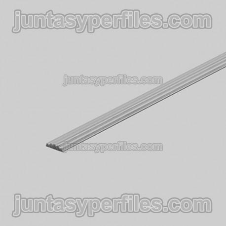Novostrip SP - Perfil podotáctil de aluminio anodizado antideslizante