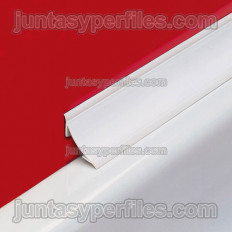Novobañera 2B PVC - Profilé sanitaire concave en PVC