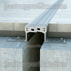 Novojunta Pro Metal 50 - Aluminium-Dehnungsfuge