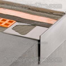 BARA-RT - Perfil fioles d'alumini lacat en forma de T
